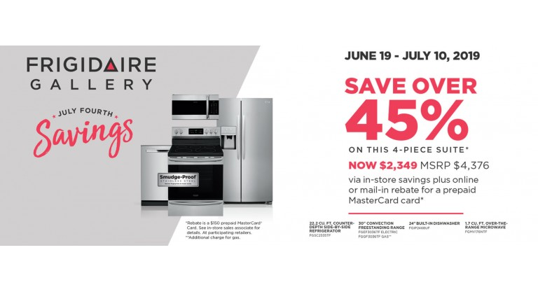 Frigidaire Package 4