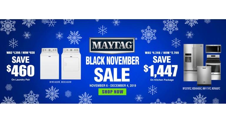 Maytag Black November Comobo