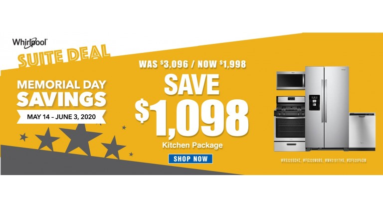 Home App Co Whirlpool Memorial Day