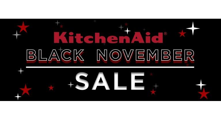 KitchenAid Black November Promotion