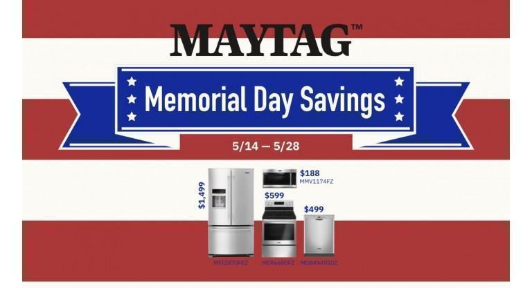 Maytag Memorial Day
