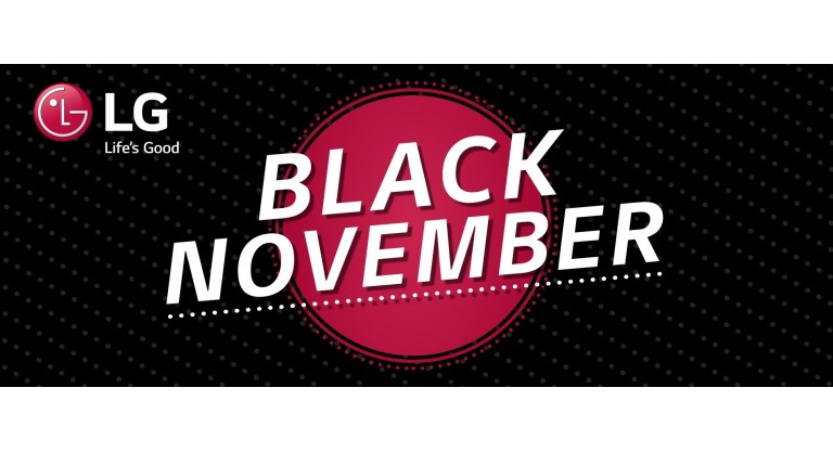LG Black November Promotion