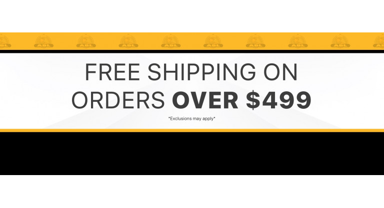 Free Shipping over $499