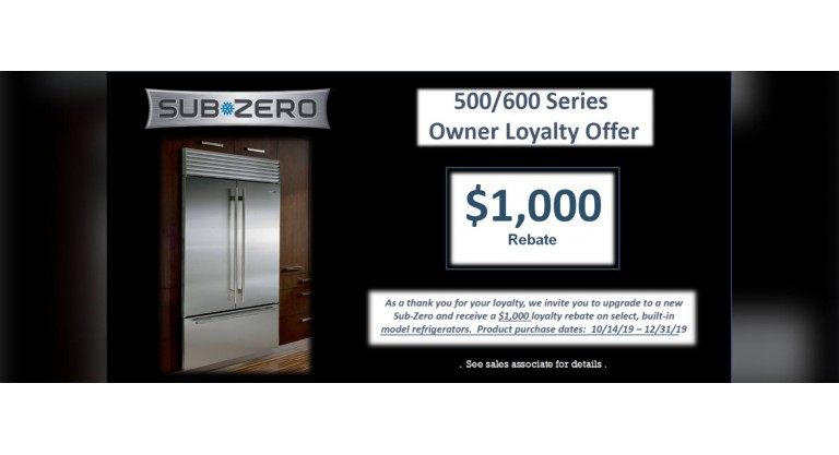 Sub-Zero 500/600 Series Owner Loyalty