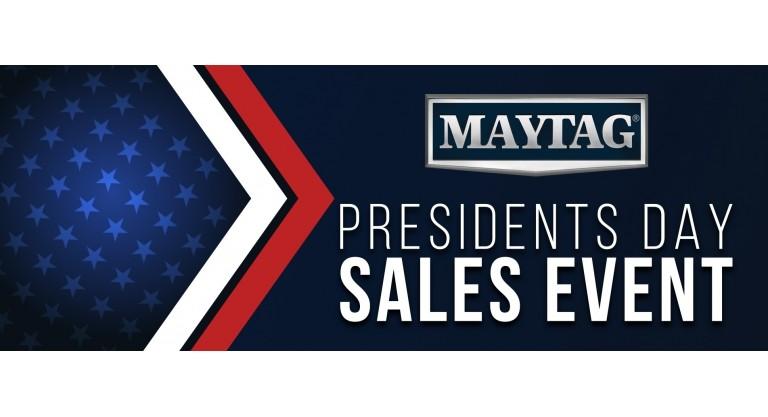Maytag Presidents Day