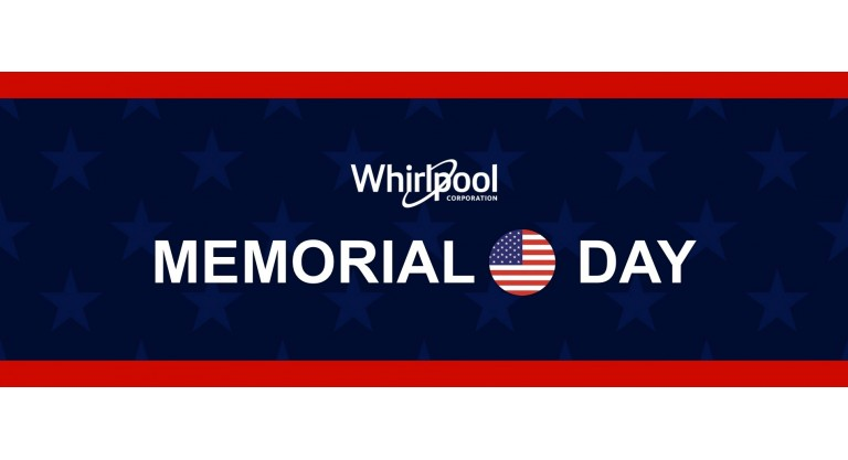 Whirlpool- Memorial Day