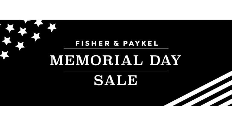 Fisher and Paykel - Memorial Day