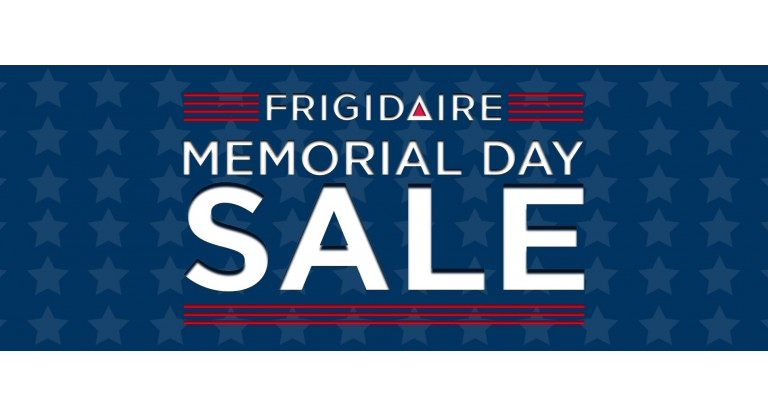 Frigidaire Memorial Day