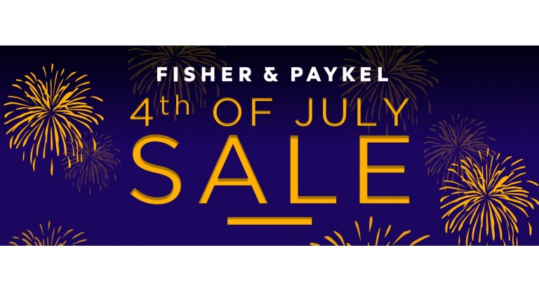 Fisher & Paykel 4th of July