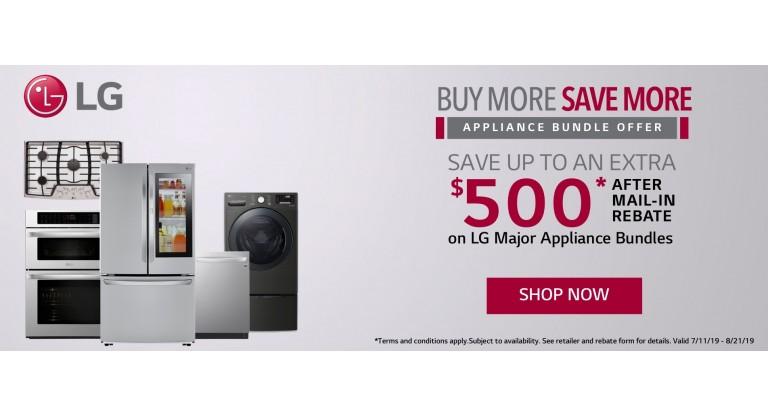 LG Appliance Bundle