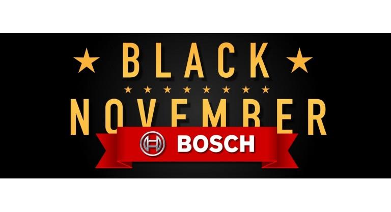 Bosch Black November Promotion