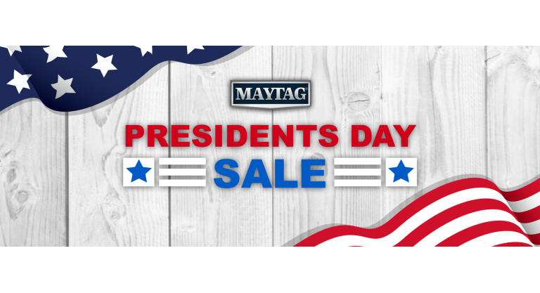 Maytag Presidents Day