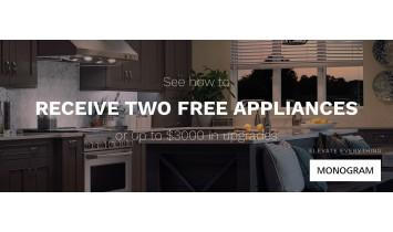 Monogram Two Free Appliances