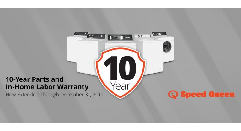 Speed Queen: 1-Year Parts and In-Home Labor Warranty