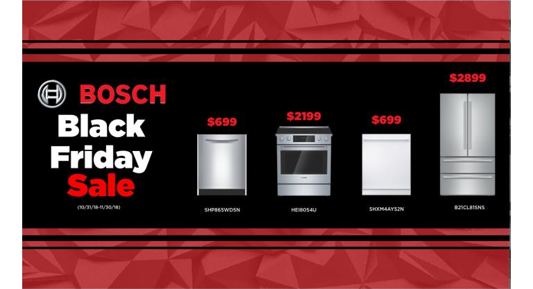 Bosch Black Friday