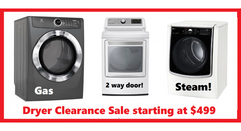 Dryer Sale