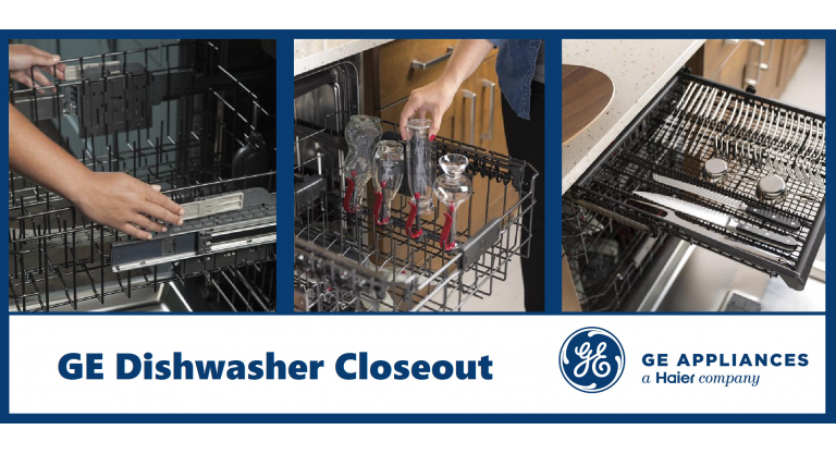 GE Dishwasher Closeout