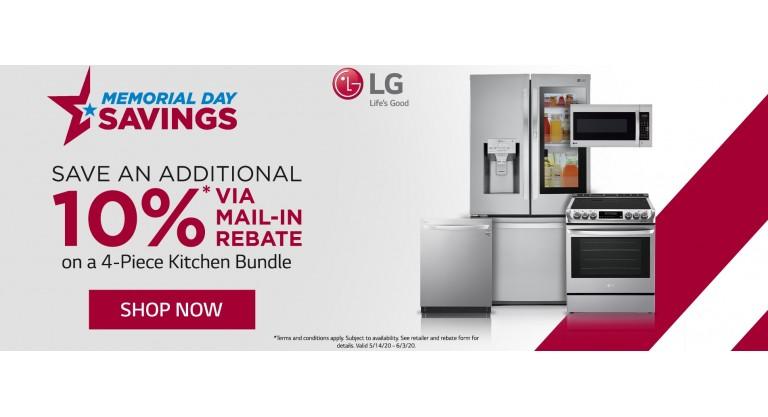 LG Memorial Day 2020 Kitchen