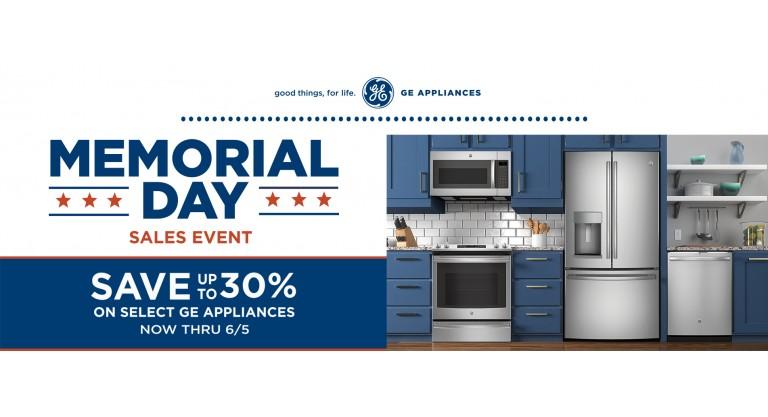 GE - Memorial Day Sale