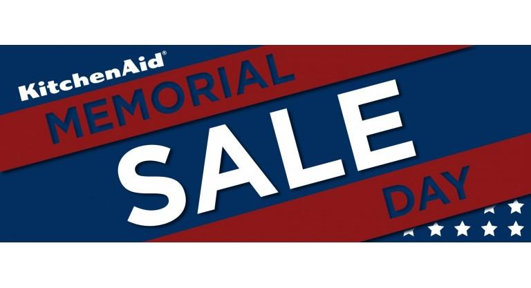 KitchenAid Memorial Day