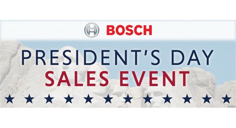 Bosch Presidents Day