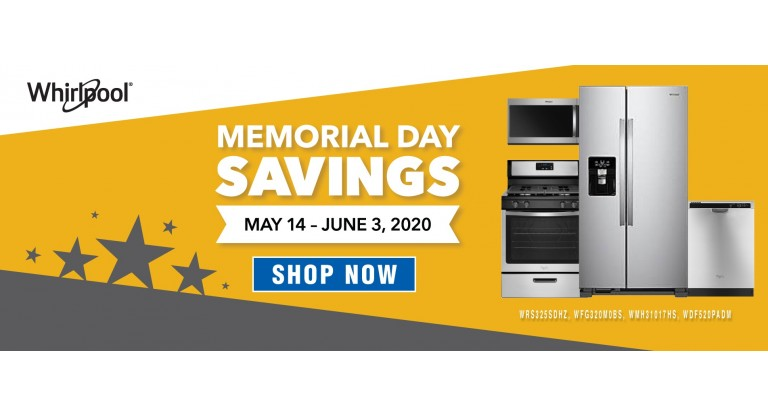 Whirlpool Memorial Day 2020