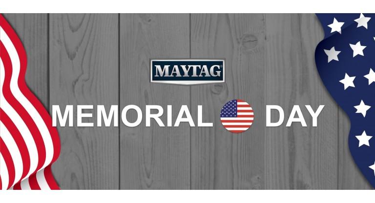 Maytag - Memorial Day