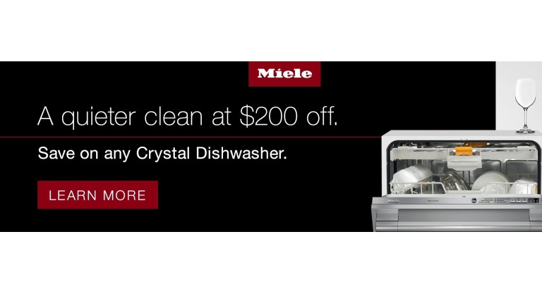 Miele: A quieter clean at $200 off