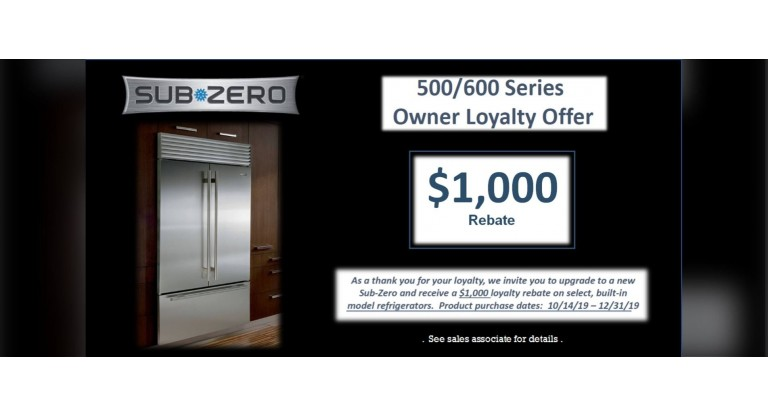 Sub-Zero 500/600 Series Owner Loyalty