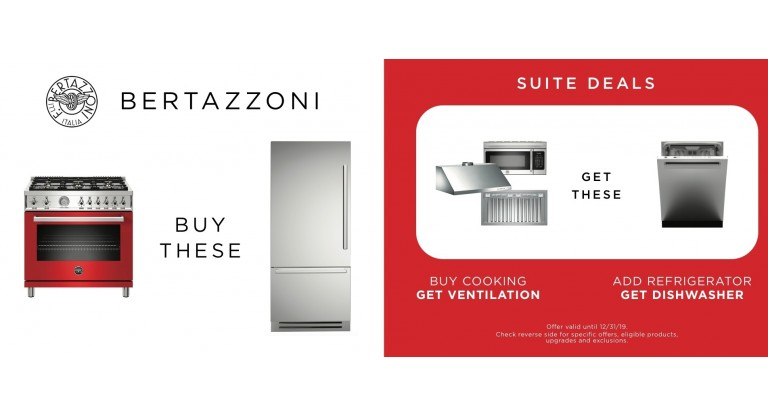 Bertazzoni Suite Deal