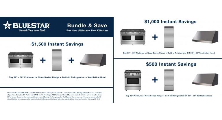 BlueStar 1500 Instant Saving