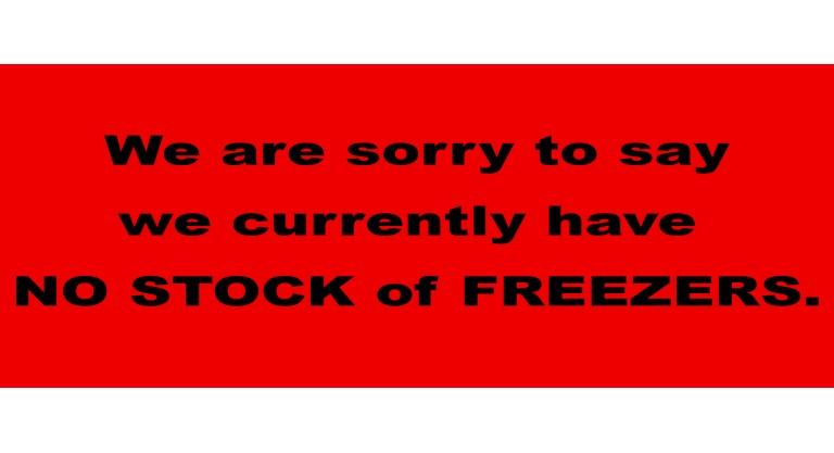 No Freezers