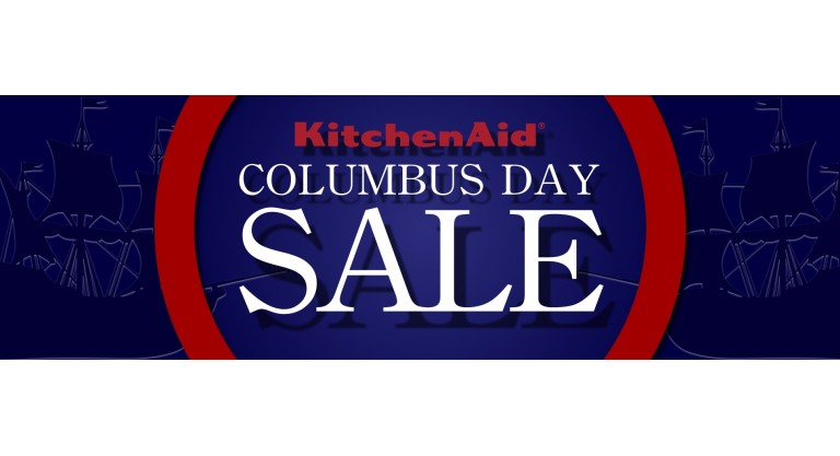 Kitchen Aid Columbus Day Promotion