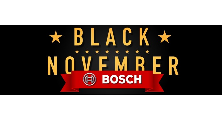 Bosch Black November Promotion
