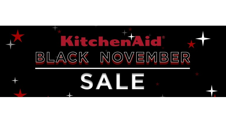 KitchenAid Black November Promotion