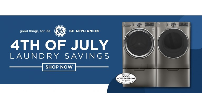 GE July 4 Laundry Savings