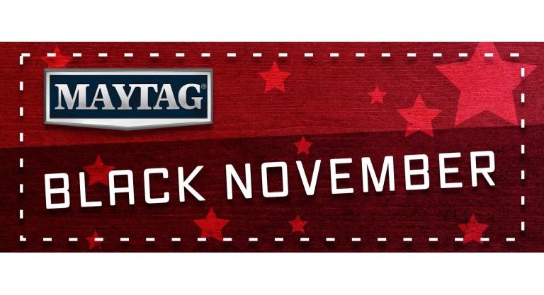 Maytag Black November Promotion