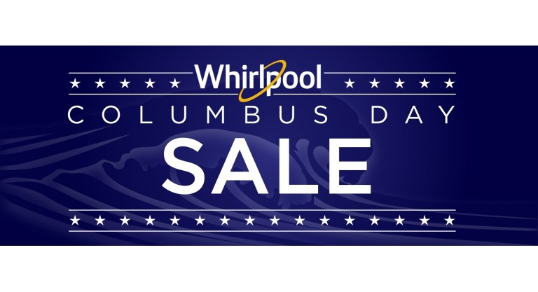 Whirlpool Columbus Day Promotion