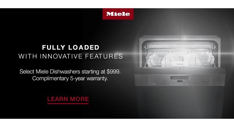 Miele: Complimentary 5-year warranty