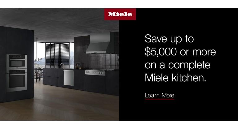 Miele: Save up to $5000