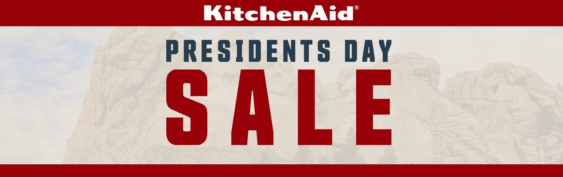 KitchenAid Presidents Day