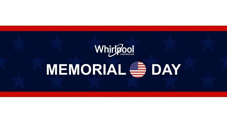 Whirlpool- Memorial Day