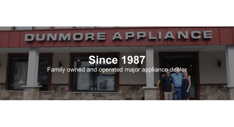 Dunmore Appliance: Outside