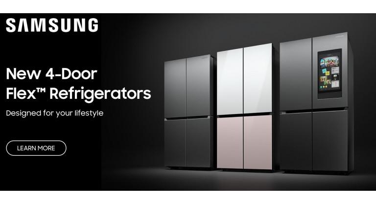 Samsung 4 Door Flex Refrigerators