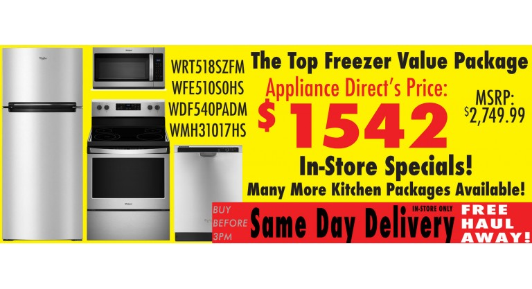 Top Freezer Value Package