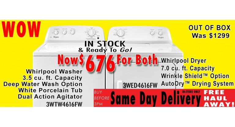 WTW4616FW-WED4616FW
