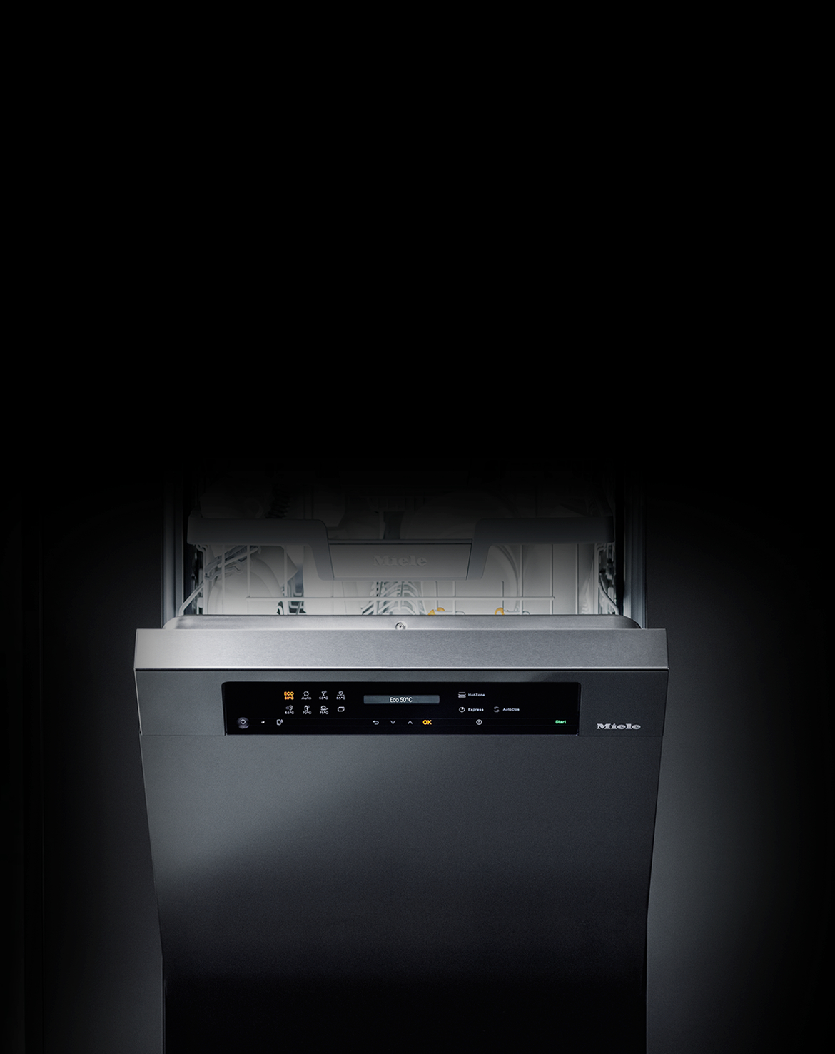 M Touch Display for the new Miele G 7000 Dishwasher