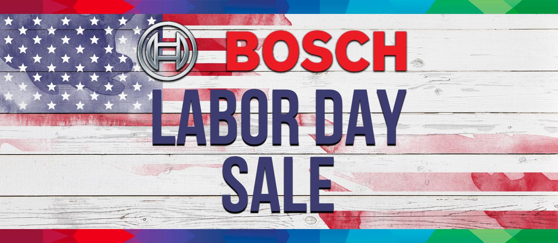 Labor Day Bosch 2020